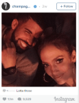 Drake Shows Love For Rihanna…On His Feet