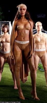 Gigi and Bella Hadid walk the runway at Savage x Fenty show