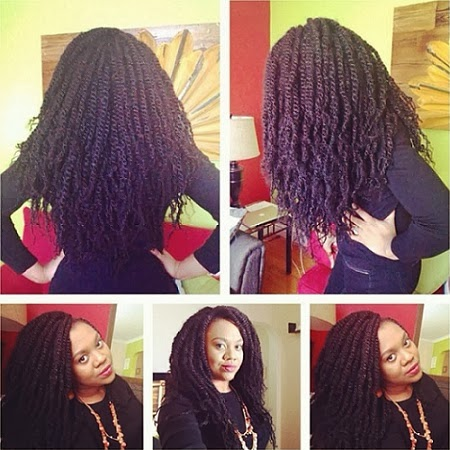Photo : Check Out Stella Damasus New Hairdo, Guess What? She made it herself!