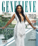 Dakore Akande Sizzles On The Cover Of Genevieve Magazine