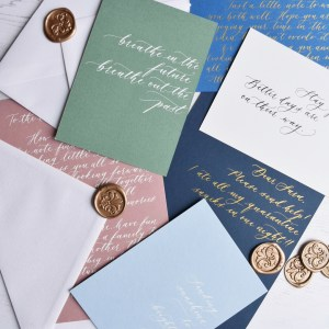 Personalised Handwritten Note