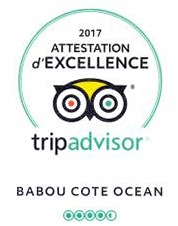attestation d'excellence tripAdvisor 2017