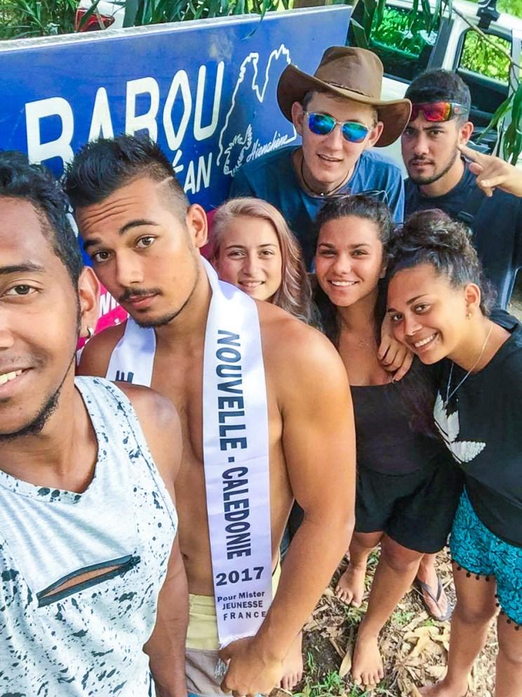 Miss et Misters Jeunesse Calédonie 2017 chez Babou Côté Océan à Hienghène