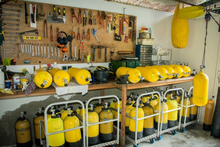 Blocs de plongee - Babou Cote Ocean - Hienghene - Nouvelle Caledonie