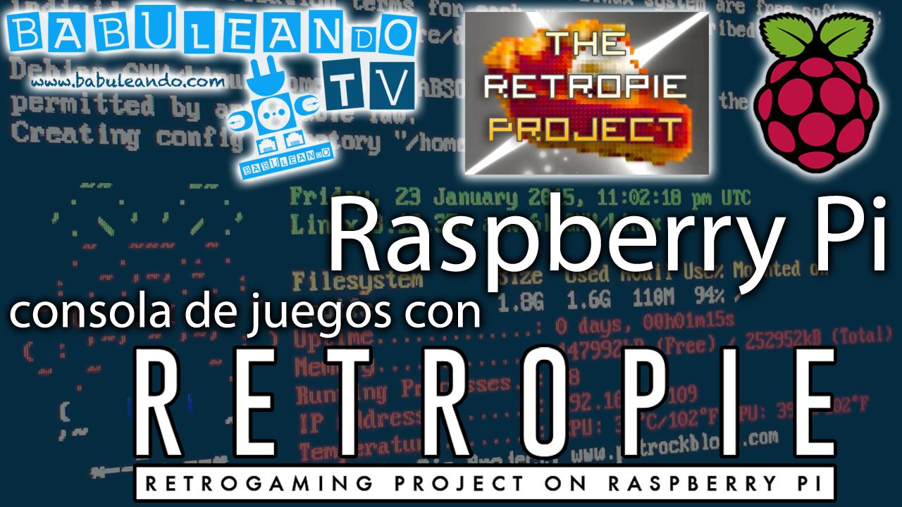 Raspberry Pi, una consola de juegos con RetroPie