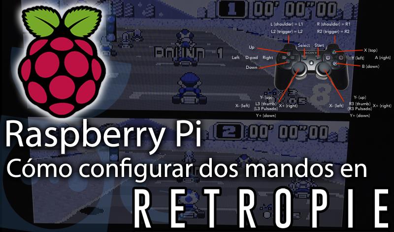 Raspberry Pi, cómo configurar dos mandos en RetroPie