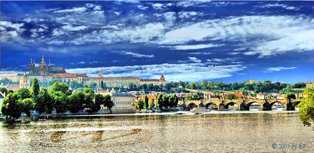 Prague the capital city of Czech Republic