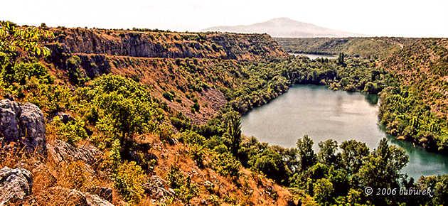 Canyon of River Krka, Dalmatia