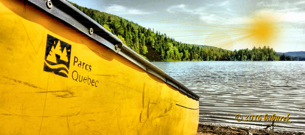 Canoeing and camping in National parks