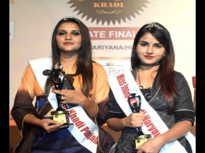 CGC Landran students win state finale of Miss India Khadi competition