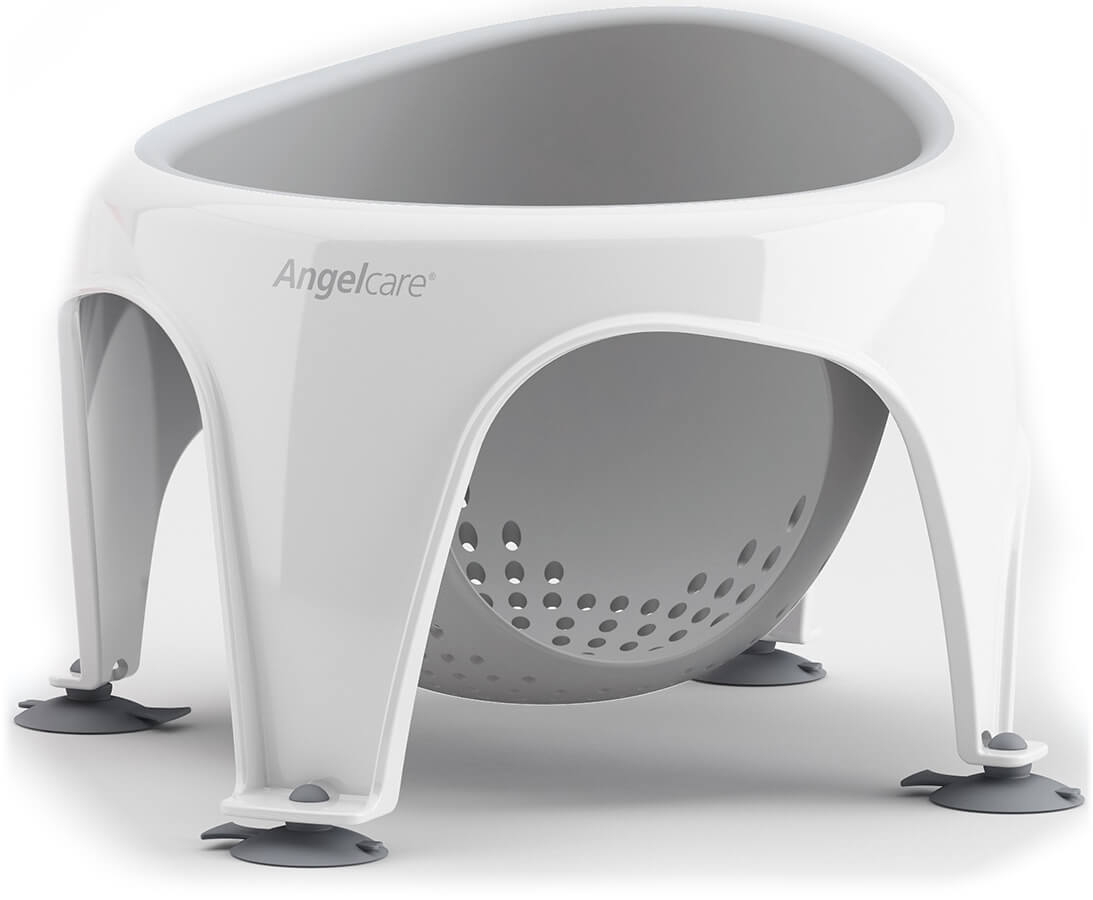 baby sleeping chair tables and chairs for restaurants angelcare bath ring gray