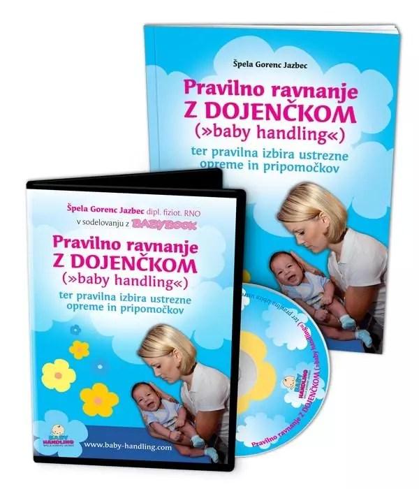 Komplet: Pravilno ravnanje z dojenčkom (DVD, priročnik)