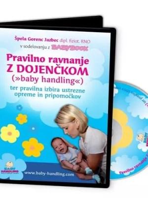 Pravilno ravnanje z dojenčkom (Baby handling) - DVD
