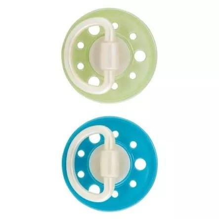 dudica z okroglim cuceljčkom modra-zelena
