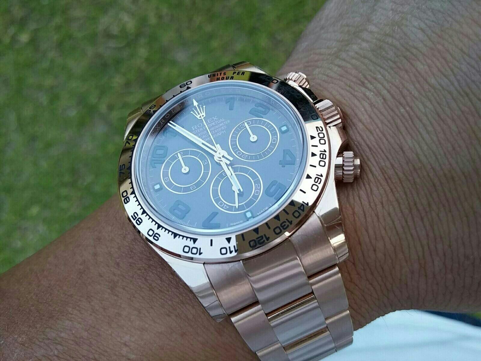 Rolex Daytona朱古力玫瑰金 - 二手市場 - Baby Kingdom - 親子王國 香港 討論區