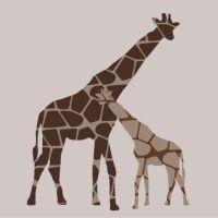 Baby Koo - Giraffe stretched wall art