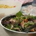 Thai BBQ chicken salad