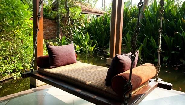 swing chair sri lanka samsonite chairs babymoon bliss at reef villa beach resort