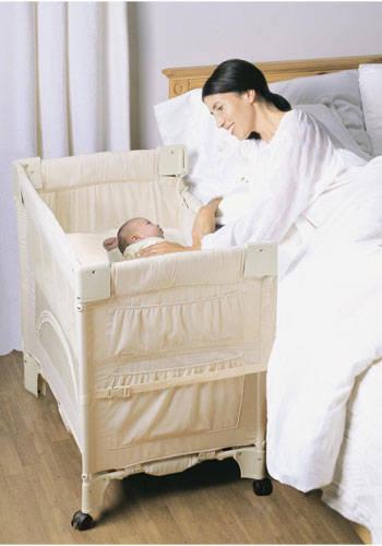a cosleeper crib safety