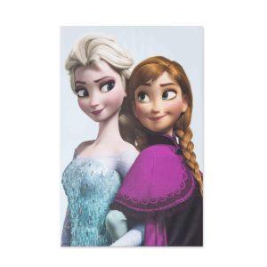 Canvas Elsa & Anna 70x50 cm