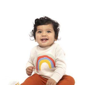 HEMA Baby Sweatbroek Bruin (bruin)