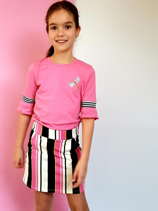 Chaos and Order Meisjes T-shirt - Tess - Roze