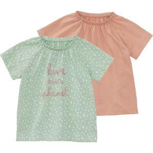 HEMA 2-pak Baby T-shirts Mintgroen (mintgroen)