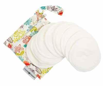 Kindred Bravely Washable Organic Contoured Reusable Nursing Breastfeeding Pad