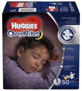 Huggies big pack OverNites diapers