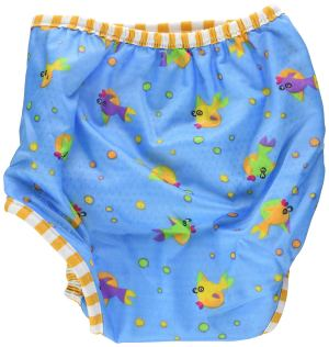 Kushies Goldfish Print Swim Diaper