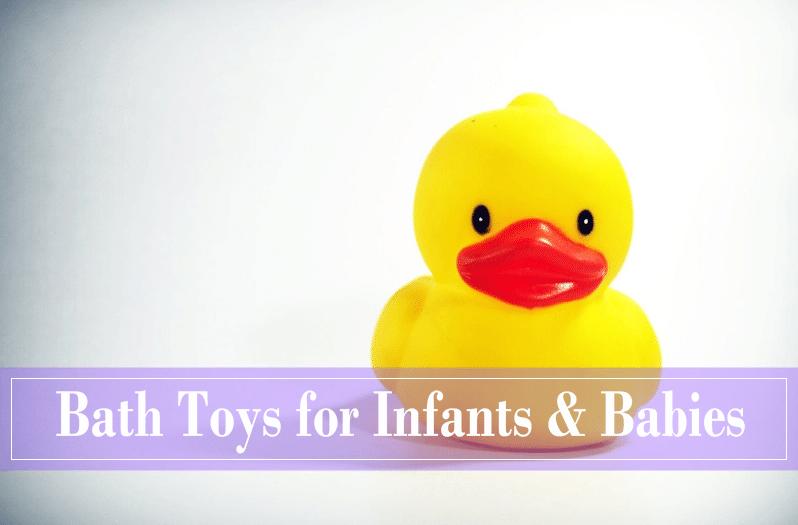 Best Bath Toys for Infants & Babies