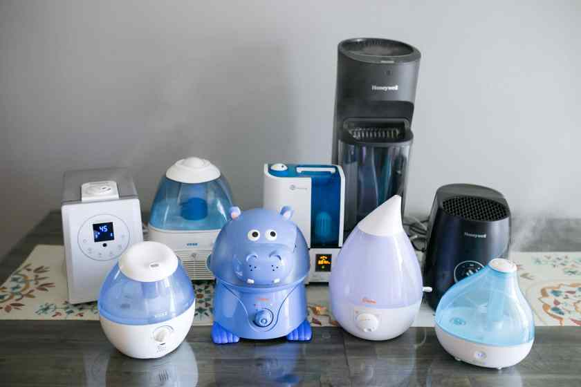 Different types of humidifiers
