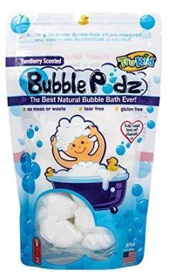TruKid Bubble Podz Natural Bubble Bath