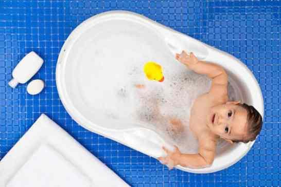 safe bubble bath for babies