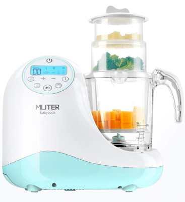 MLITER Food Maker with Steam Cooker