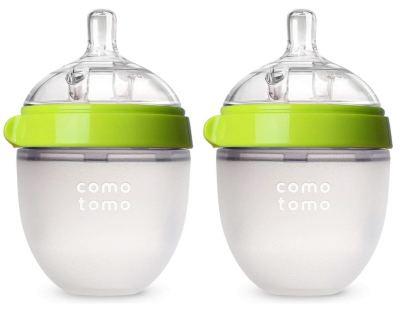 Comotomo Green Baby Bottle