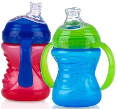Nuby 2-Pack Two-Handle Sip Cup