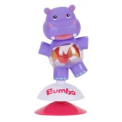High Chair Suction Toys Stool Folding Bumbo Highchair Toy Hildi The Hippo Baby Toddler Town