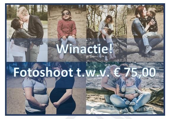 Winactie: Fotoshoot t.w.v. €75,-