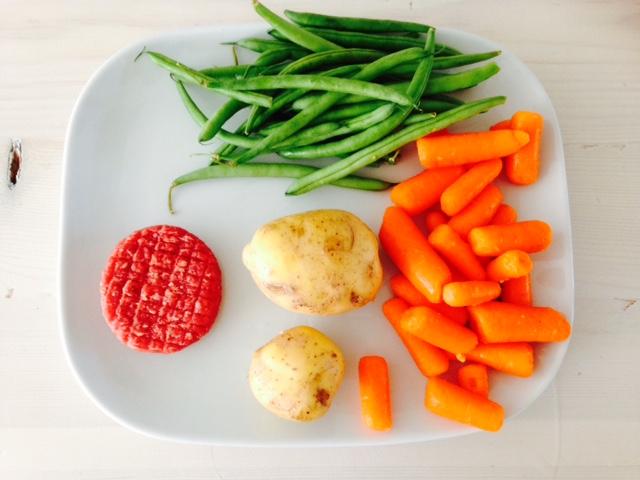Babyhapje #1 – groenten
