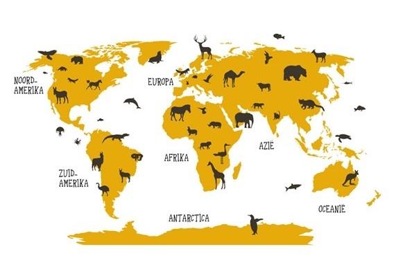 Winactie – Win een wereldkaart van wereldkaarten.nl