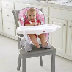 Graco Space Saver High Chair Swivel Nursery Brand Review Fisher Price Baby Bargains