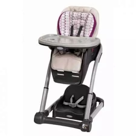 graco contempo high chair replacement cover desk wheels brand review baby bargains blossom