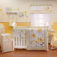 Nojo Bright Blossoms Crib Bedding - Baby Bedding and ...