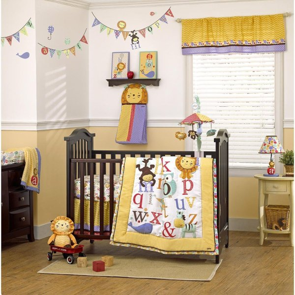 Cocalo Alphabet Babies Crib Bedding Collection - Baby And Accessories