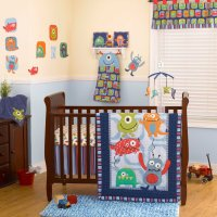 Coco and Company Monster Buds Baby Bedding and Decor ...