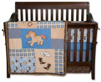 Trend Lab Cowboy Baby Crib Bedding and Decor - Baby ...