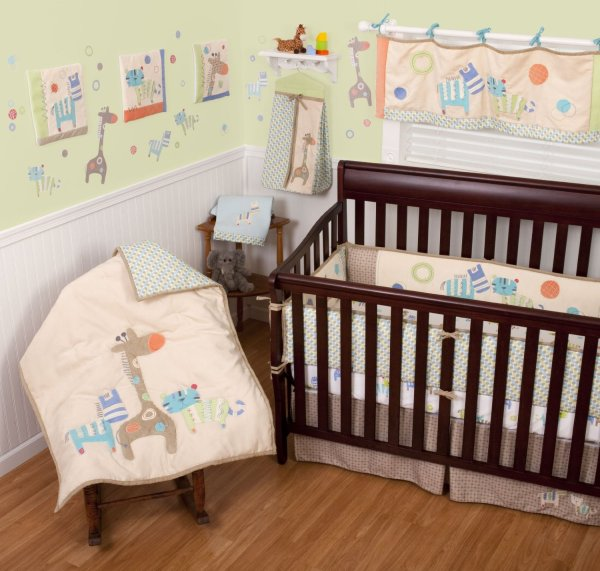 Animal Baby Bedding Crib Sets