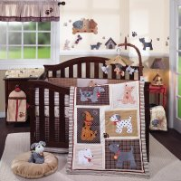 Lambs and Ivy Woof Baby Bedding Collection - Baby Bedding ...