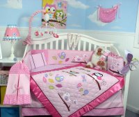 Soho Owls Meadowland Crib Bedding Collection - Baby ...